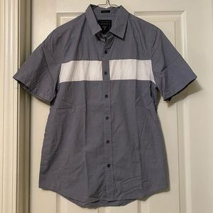 Men's Guess Button Down Short Sleeve Shirt